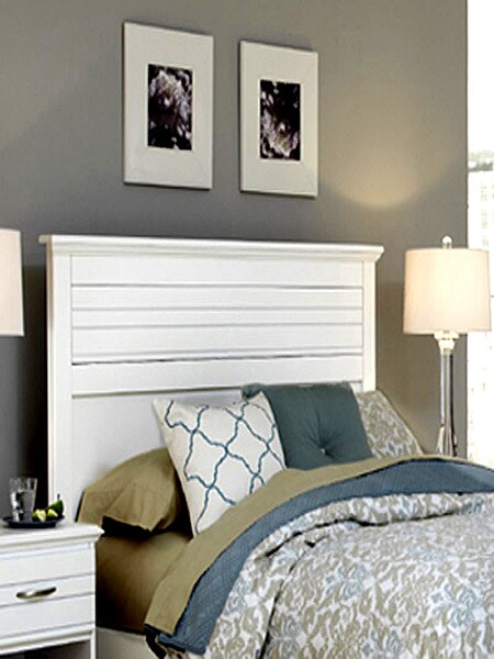 Della Panel Headboard by August Grove