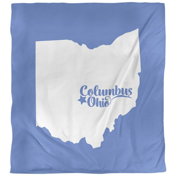 Columbus Ohio Single Duvet Cover