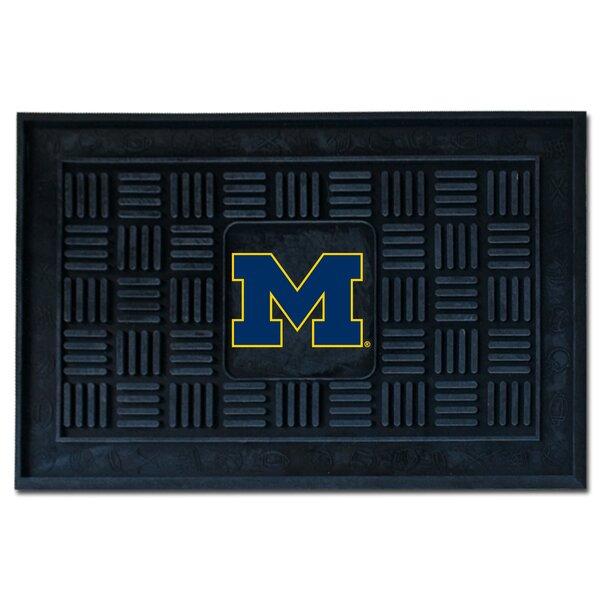 NCAA University of Michigan Medallion Door Mat by FANMATS