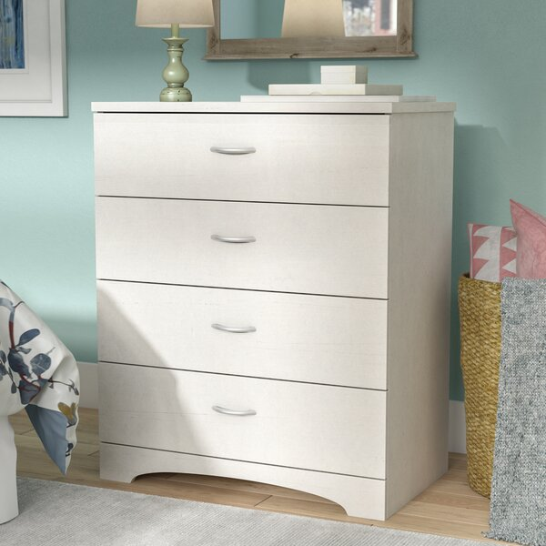 Bargain Poulson 4 Drawer Chest By Andover Mills Comparison