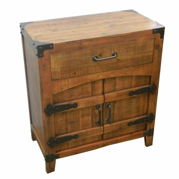 Ottinger Antique 1 Drawer Accent Cabinet by Loon Peak