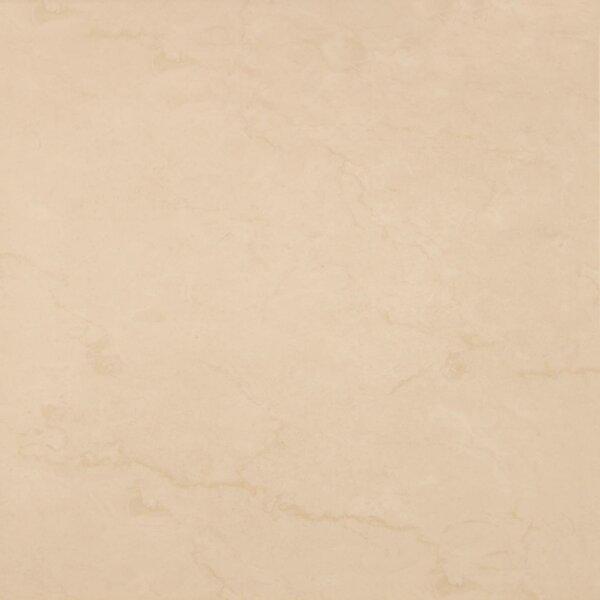 Cali Botticino 17 x 17 Ceramic Field Tile in Sand by Tesoro