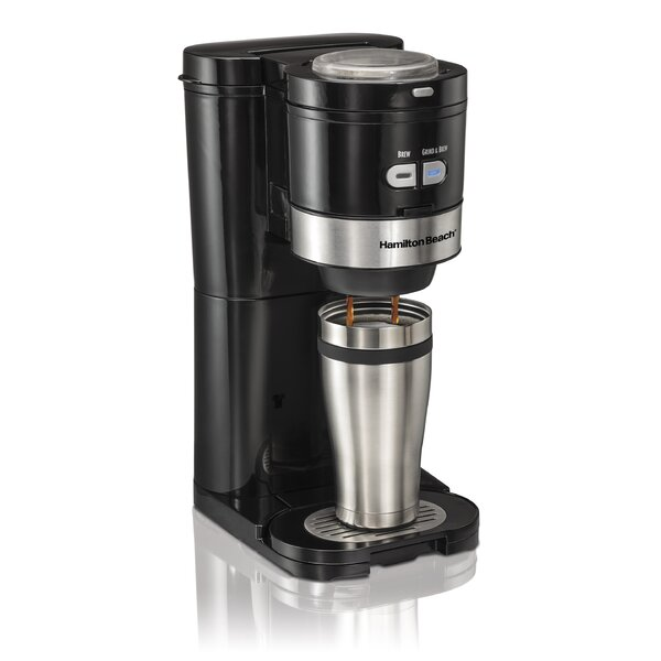 Grind and Brew Single-Serve Coffee Maker by Hamilton Beach