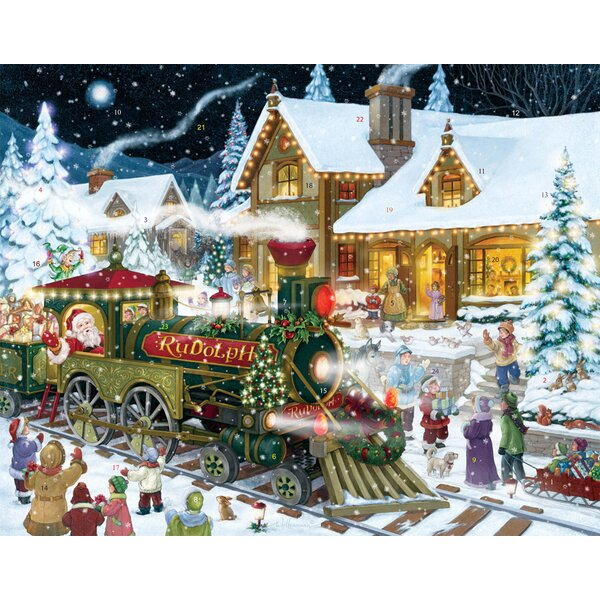 Whistle Stop Christmas Advent Calendar by The Holiday Aisle
