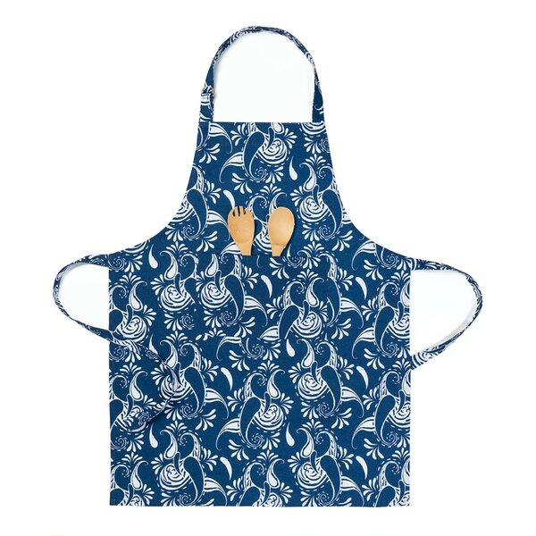 Paisley Chef Apron by Linen Tablecloth