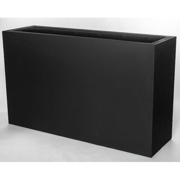 Riemer ML Rect 5936 Fiberglass Clay Composite Window Box Planter by Brayden Studio