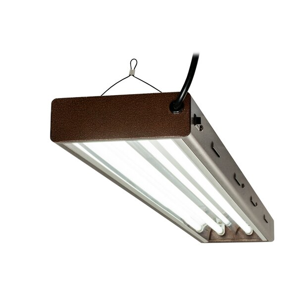 4-Light Tube Fixture by Hydrofarm