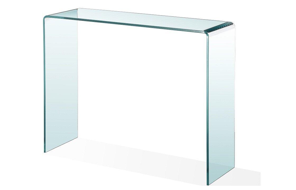 ca designs peek acrylic console tablereviews  wayfair