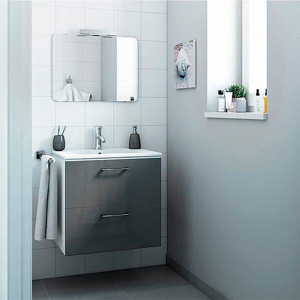 Innis 24 Wall-Mounted Single Bathroom Vanity Set by Orren Ellis