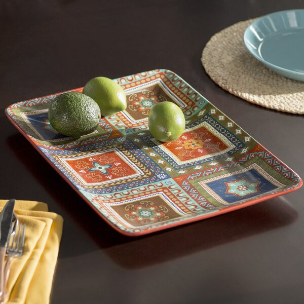 Brimson Rectangular Platter by World Menagerie