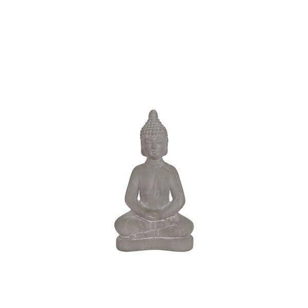 Mahesh Ceramic Meditating Buddha by World Menagerie