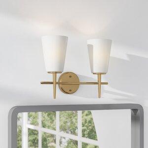 Modern Bathroom Light Fixture Brilliant Modern Vanity Lighting  Allmodern Inspiration Design