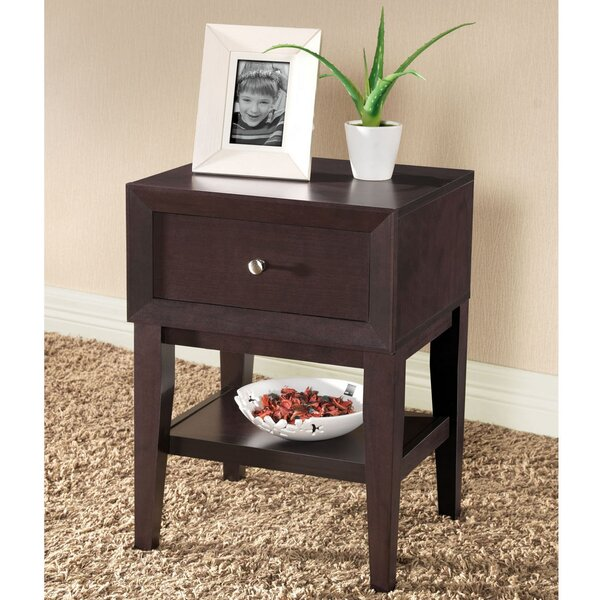 Roosevelt 1 Drawer Nightstand by Latitude Run