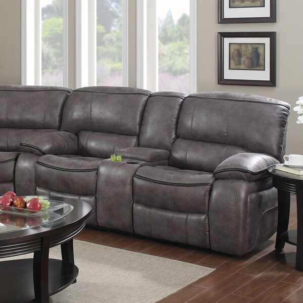 A Wide Selection Of Kailani Reclining Loveseat by Winston Porter by Winston Porter