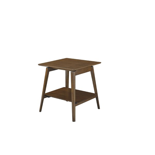 Barbosa End Table with Storage by George Oliver