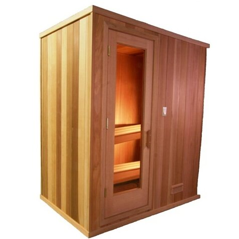 Modular 2 Person Traditional Steam Sauna by Baltic Leisure