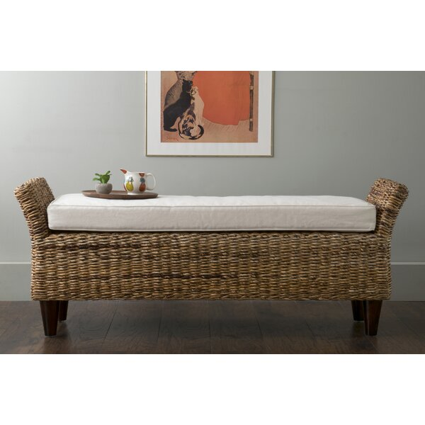 Pinedale Abaca Bench by Beachcrest Home