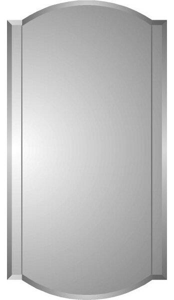 Lablanc 16 x 30 Recessed Medicine Cabinet with 6 Adjustable Shelves