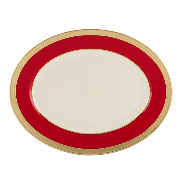 Embassy Oval Platter by Lenox