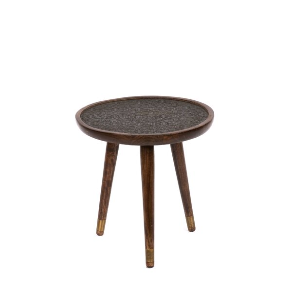 Jayvion Wooden End Table by Bungalow Rose Bungalow Rose