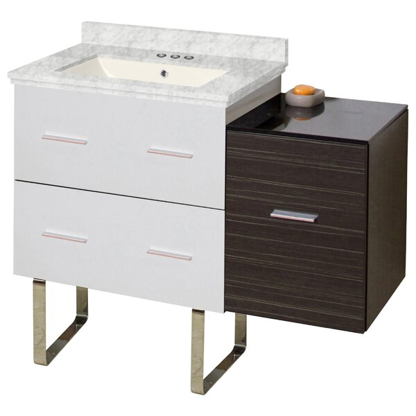 Bassham 38 Single Bathroom Vanity Set by Orren Ellis