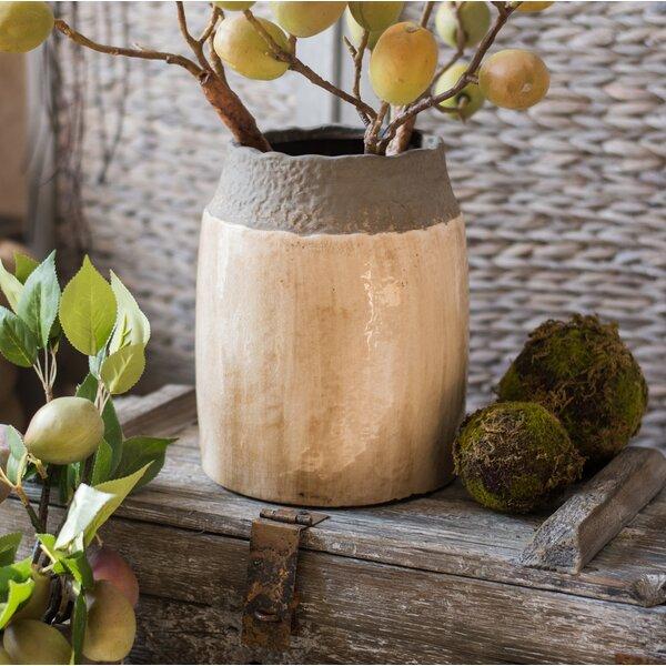 Aleksandra Coarse Pottery Table Vase by Union Rustic