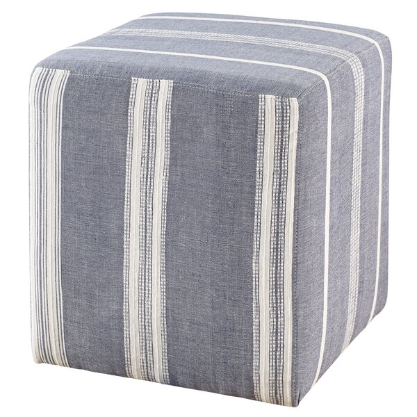 Azur Cube Ottoman by Imagine Home