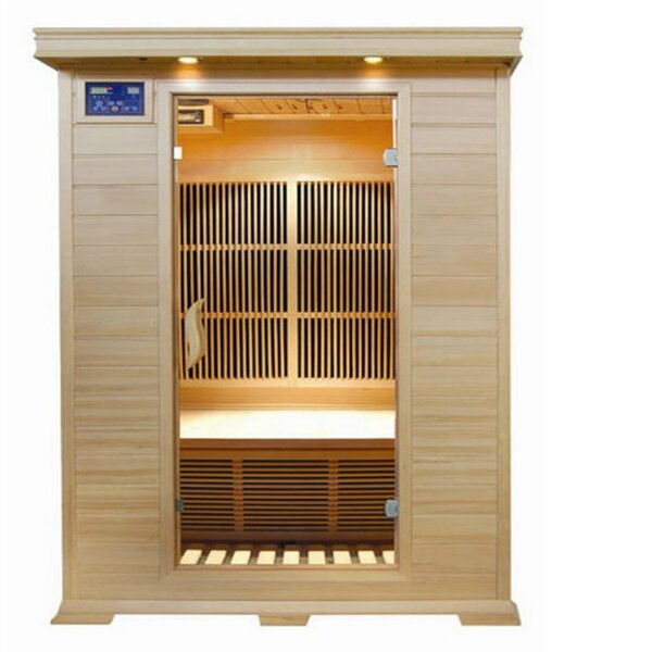 Evansport 2 Person FAR Infrared Sauna by SunRay Saunas