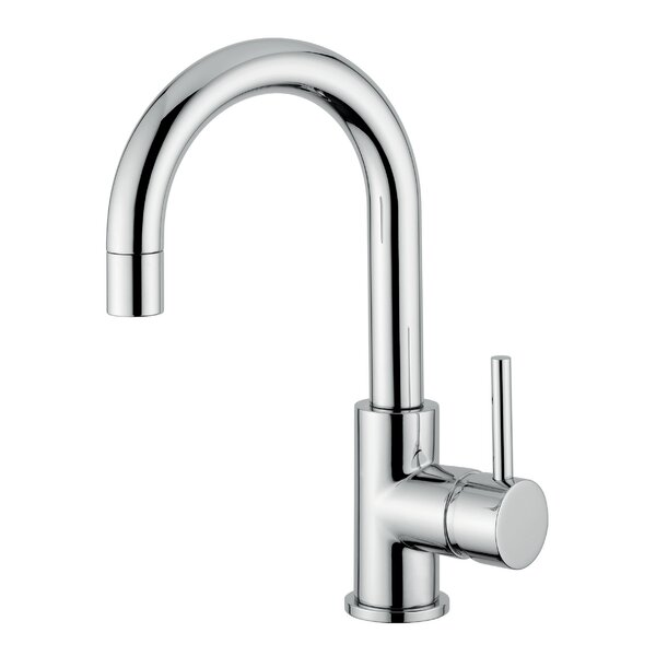 Novara Surface Mount Sink Faucet With Swivel Spout By Andolini Home & Design