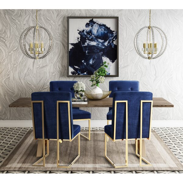 Alvaro 5 Piece Dining Set by Everly Quinn