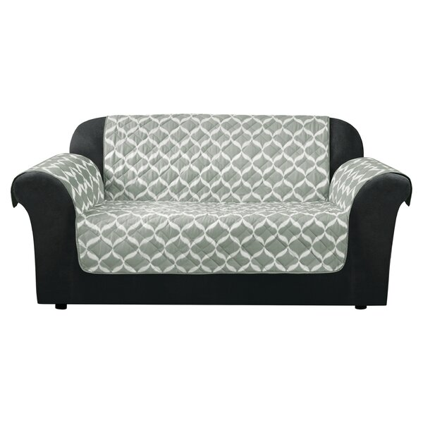 Furniture Flair Flash Box Cushion Loveseat Slipcover By Sure Fit