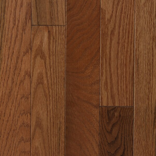Lake Inari 2-1/4 Solid Oak Hardwood Flooring in Gunstock by Branton Flooring Collection