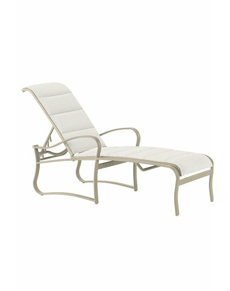 Shoreline Reclining Chaise Lounge by Tropitone