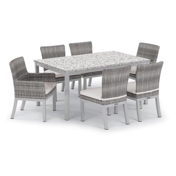 Saleem 7 Piece Dining Set With Cushions By Brayden Studio