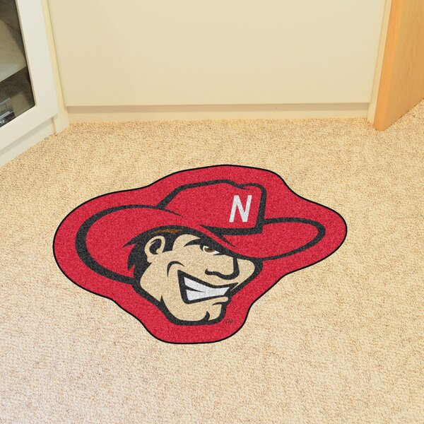 NCAA University of Nebraska Mascot Mat by FANMATS