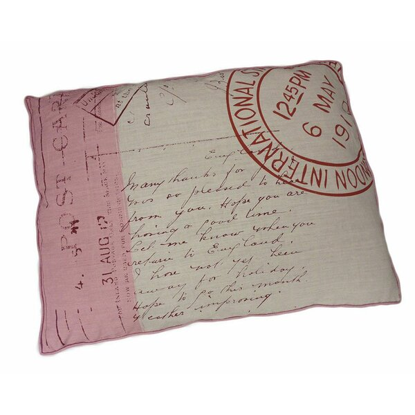 Stamp Dog Pillow by Stratford Home