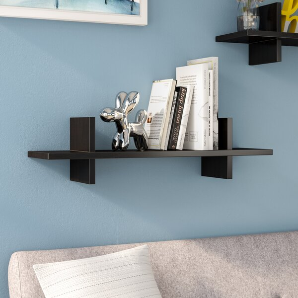 Thatcham Decorative H Shaped Floating shelf by Wrought Studio