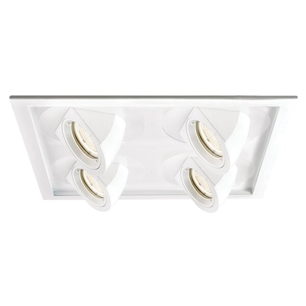 Tesla LED Multi-Spotlight Eyeball Recessed Trim by WAC Lighting