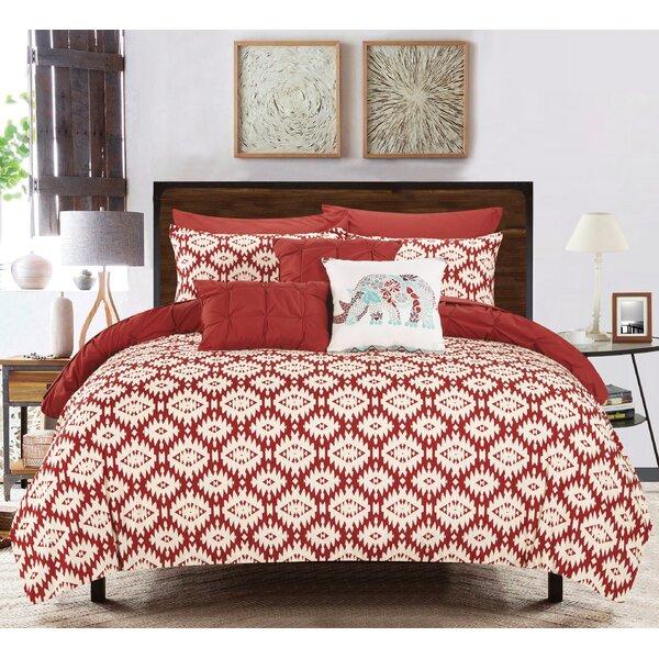 Huber 8 Piece Reversible Comforter Set by Bungalow Rose