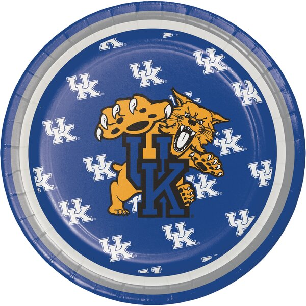 NCAA Dessert Plate (Set of 24) by Creative Converting