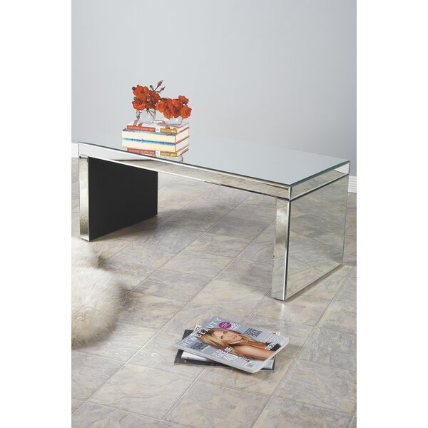 Bridget Mirrored Coffee Table by Statements by J Statements by J