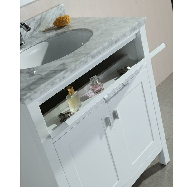 Ellington Traditional Freestanding 30 Single Bathroom Vanity Set by Alcott Hill