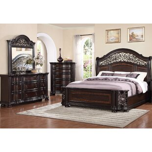 Winkelman Queen Panel 4 Piece Bedroom Set By Fleur De Lis Living