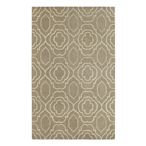 Frederica Silver/Ivory Area Rug by Darby Home Co