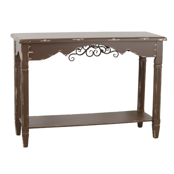 Azalea Traditional Farmhouse Console Table by Ophelia & Co.
