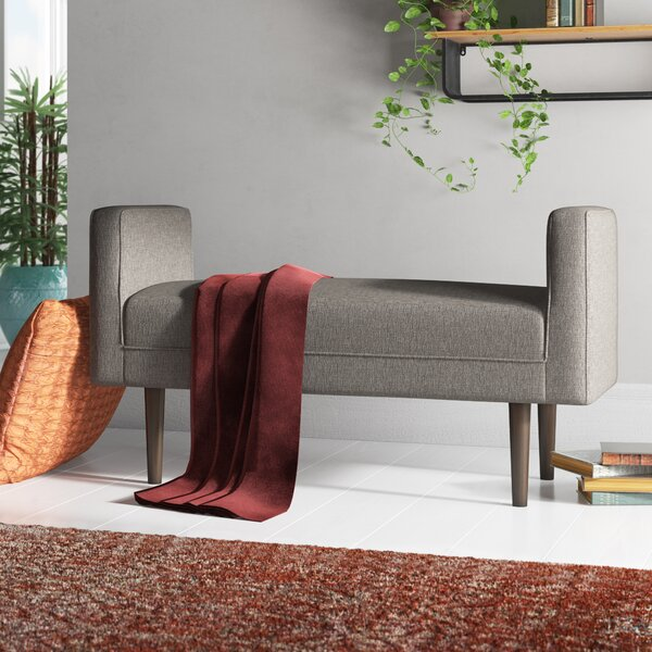 Scituate Upholstered Bench by Zipcode Design