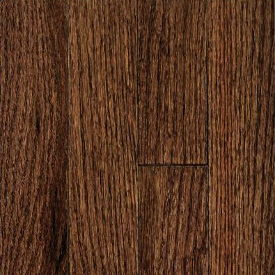 Muirfield 2-1/4 Solid Oak Hardwood Flooring in Tuscan Brown by Mullican Flooring