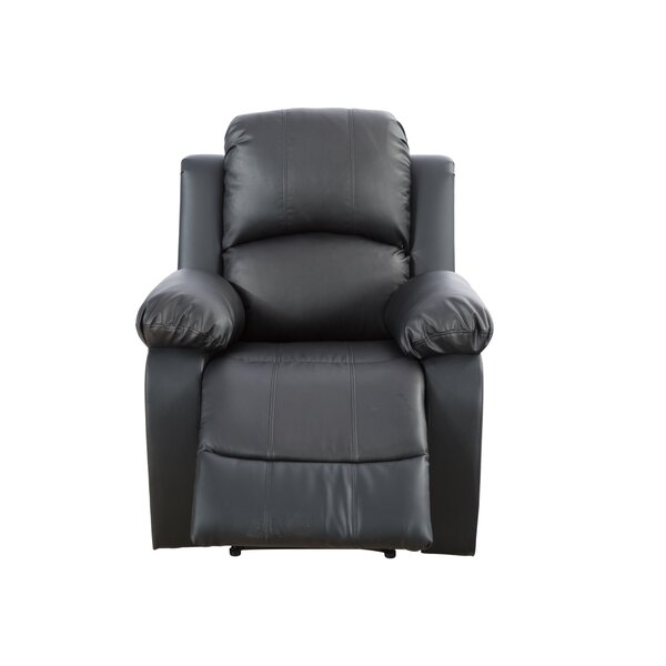 Dohosan Lorrie Living Room 46 Manual Rocker Recliner Red Barrel Studio W000264958