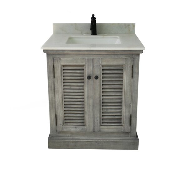 Edgecomb 30 Single Bathroom Vanity Set by Bay Isle Home