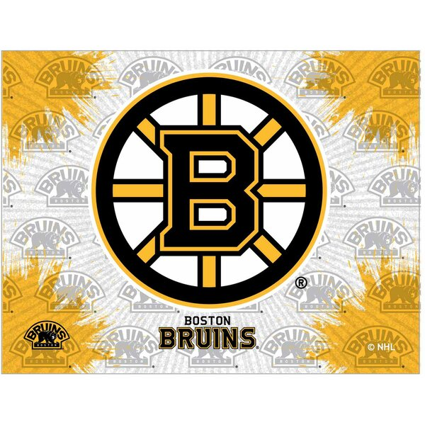 NHL Graphic Art on Canvas by Holland Bar Stool